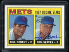 1999 TOPPS CERTIFIED AUTO TOM SEAVER 1967 ROOKIE Reprint Autograph Signed PSA it