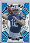 ANDREW LUCK 2012 TOPPS FINEST ATOMIC REFRACTOR DIE CUT BLUE RC HOT!