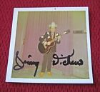 VINTAGE LITTLE JIMMY DICKENS AUTOGRAPHED / SIGNED CANDID COLOR SNAPSHOT