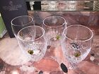 Nwt Waterford Crystal Lismore Essence Double Old Fashioned Glasses 4 Mothers Day