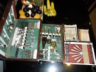 EDWARDS 1957 DEEP SILVER SET with Original BOX and Documents