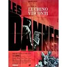 THE DAMNED French Movie Poster 47x63 1969 Luchino Visconti Dirk Bogarde