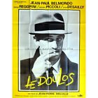 LE DOULOS Movie Poster 47x63 in French 1962 Jean Pierre Melville Jean Pau
