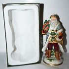 Fitz And Floyd Clairmont Santa Ornament Figurine Christmas Ceramic 2006 Retired