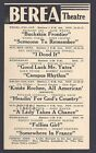 1943 BEREA THEATRE OH CLASSIC MOVIE KNUTE ROCKNEY R REAGAN, SEE INFO