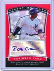 ROBINSON CANO 2010 TOPPS FINEST MOMENTS RED REFRACTOR AUTOGRAPH AUTO #'D 25