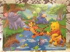 60 piece Wooden Jigsaw Pooh Puzzle Toy Kids Play Game Children Gift