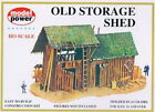 Model Power 435 HO Scale Old Storage Shed Building Kit