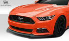 Permance Look Front Lip Spoiler 1 Pc For Mustang 15 16 Duraflex