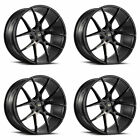 19 SAVINI BM14 BLACK CONCAVE WHEELS RIMS FITS LEXUS LS430