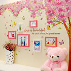 LOT of 10 Sheets of Love Is Beautiful Scenic Tree Wall Decal Decor for Wall