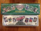 UPPER DECK 1990 & 1991 BASEBALL COMPLETE SETS. NEW IN FACTORY SEALED BOX