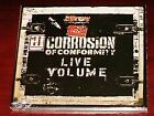 CORROSION OF CONFORMITY - LIVE VOLUME NEW CD