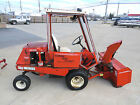 Jacobsen T422D Kubota Diesel Hydraulic 72 Riding lawnmower  50 Snowblower