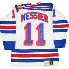 Mark Messier Signed New York Rangers Authentic Mitchell & Ness Jersey