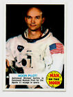 1969 Topps Man on The Moon trading card # 53b Moon Pilot (Michael Collins)