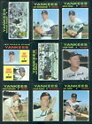 (11564) 1971 Topps 31 Card Team Set Yankees-EX All cards scanned front and back