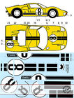 1/12 TRANSDECAL FORD GT40 NR. 8 LE MANS '66 TRUMPETER