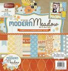 DCWV The Modern Meadow Stack 48 Sheets of 12x12 Printed Cardstock