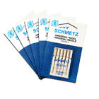 5x Schmetz Universal Needles Size 70/10 - Useful Utility, 5 Pack, Fits Most