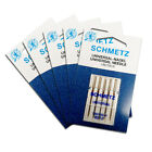 5x Schmetz Universal Needles Size 80/12 - Useful Utility, 5 Pack, Fits Most