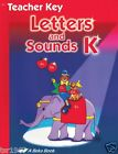 A Beka Letters and Sounds K5 Teacher Key