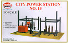 Model Power 416 HO Scale City Power Station #15 Building Kit