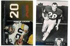 ROCKY BLEIER Lot 2011 Upper Deck 2008 Topps Chrome NFL Dynasties Pittsburg HOF