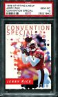 PSA 10 1998 KENNER STARTING LINEUP SLU JERRY RICE CONVENTION SPECIAL pop 2 49ERS