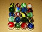 Vintage Marbles Found In Old Barn. Marble King / Vitro / Alley Agate /