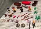 Lego Pirate Lot / 4 Figures / Accessories / Boats / Monkey / Skull