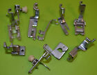 VTG Generic Sewing Attachments 8 Presser Feet for Long Shank Machines Nice Shape