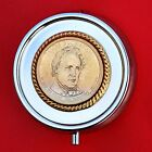 2010 US Presidential 1 Coin 3 Compartments SP Pill Box James Buchanan