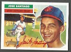 2005 Topps Heritage Jose Santiago Red Ink auto #34 56 Cleveland Indians MINT