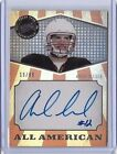 Andrew Luck 2012 Press Pass Auto All-American #'d 19 99