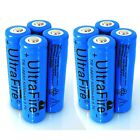 8x 18650 Battery 3.7V Li-ion Rechargeable Battery For Led Flashlight High Power