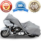 Motorcycle Heavy 4 Layer Storage Cover For Harley Davidson Road King Classic