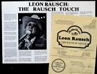 Vintage LEON RAUSCH Promo Photo Kit COUNTRY MUSIC / BOB WILLS TEXAS PLAYBOYS