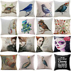 Game of Thrones Ghost Bride Flower Cotton Linen Pillow Case Throw Cushion Cover