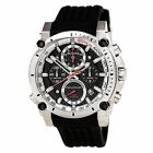 Bulova Men's 98B172 Precisionist Chronograph Diving Black Rubber Band Watch