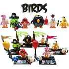 Angry Birds Lego Block Bomb Crazy RED Pirate Pig Mini Figures Brick Toy Kid Gift