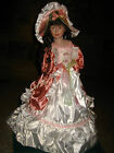 GORGEOUS VICTORIAN PORCELAIN UMBRELLA DOLL~BY KNIGHTSBRIDGE COLLECTION~