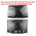 New For Lenovo Y50 70 156 back Top Lcd Rear Cover Touch AM14R000300 Priority