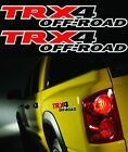 2 TRX4 Offroad Truck 4x4 Decals Stickers Dodge Dakota Size 25x15 3M VINYL