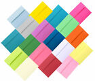 Multi Color Assorted Envelopes for Greeting Cards Invitation Showers A1 A2 A6 A7