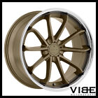 20 BLAQUE DIAMOND BD23 BRONZE CONCAVE WHEELS RIMS FITS LEXUS GS300 GS400 GS430