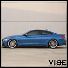 20 AVANT GARDE M615 BRUSHED SILVER FORGED CONCAVE WHEELS RIMS FITS AUDI A7 S7