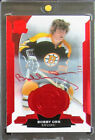 2014-15 UD The Cup Red Foil * BOBBY ORR * Auto 1 3