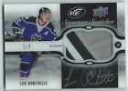 2015-16 UPPER DECK ICE SIGNATURES SWATCHES AUTO PATCH BLACK - LUC ROBITAILLE 1 7