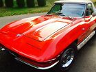 Chevrolet Corvette Convertible 1964 red white convertible with hardtop